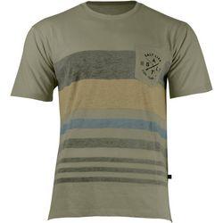 Salt Life Mens Striped Pocket Logo Short Sleeve T-Shirt