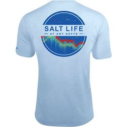 Salt Life Mens At Any Depth Pocket T-Shirt
