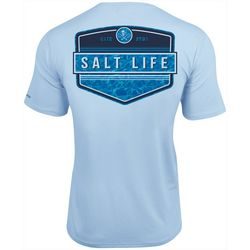Salt Life Mens Calm Waters Badge SLX UVapor