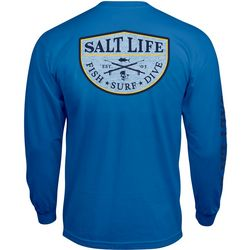Salt Life Mens Fish Surf Dive Long Sleeve