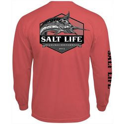 Salt Life Mens Life in the Cast Line T-Shirt