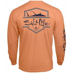 Salt Life Mens Logo Long Sleeve T-Shirt