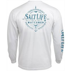 Salt Life Mens Watermen Way Long Sleeve T-Shirt