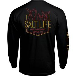 Salt Life Mens Neon Tails Long Sleeve T-Shirt