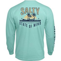 Salt Life Mens Salty State Of Mind Long Sleeve T-Shirt