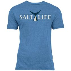 Salt Life Mens Tuna Tail Tri-Blend T-Shirt