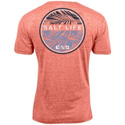 Salt Life Mens Iconic Palms Tri-Blend T-Shirt