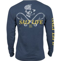Salt Life Mens Static Hooks Long Sleeve T-Shirt
