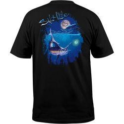 Salt Life Mens Night Sword Pocket T-Shirt
