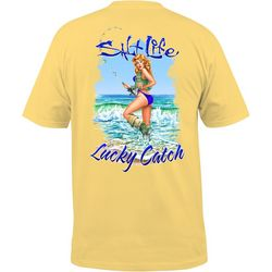 Salt Life Mens Lucky Catch T-Shirt