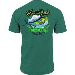 Salt Life Mens Hot Rod Marlin Pocket T-Shirt