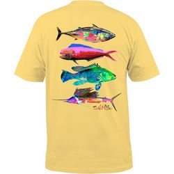 Salt Life Mens Psycho Fin T-Shirt
