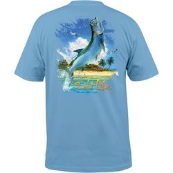 Salt Life Mens Keys Tarpon Pocket T-Shirt