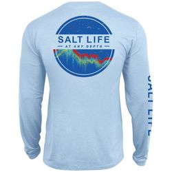 Salt Life Mens At Any Depth Long Sleeve T-Shirt