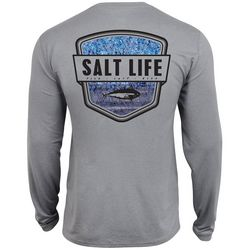 Salt Life Mens Water Skinz Long Sleeve T-Shirt