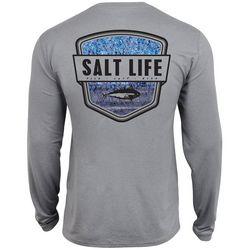 Salt Life Mens Water Skinz Long Sleeve T-Shirt