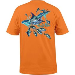 Salt Life Mens Marlins Pool Pocket T-Shirt