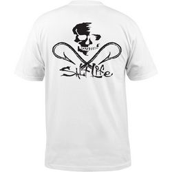 Salt Life Mens Skull and Hooks Pocket T-Shirt