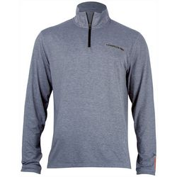 Salt Life Mens Heathered SLX UVapor Long Sleeve T-Shirt