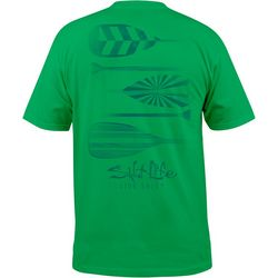 Salt Life Mens Faded Paddles T-Shirt