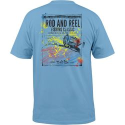 Guy Harvey Mens Rod And Reel T-Shirt