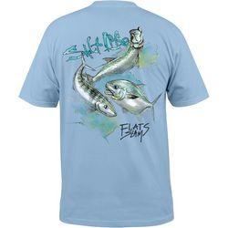 Salt Life Mens Flats Slam T-Shirt
