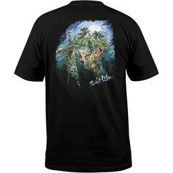Salt Life Mens Snook Strike Short Sleeve T-Shirt