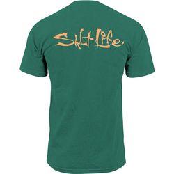 Salt Life Mens Salty Life Pocket T-Shirt