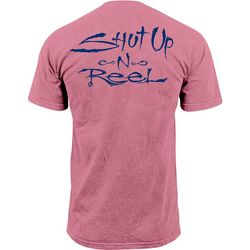 Salt Life Mens Shut Up & Reel Short Sleeve T-Shirt