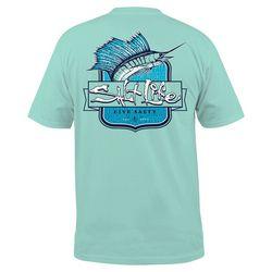 Salt Life Mens Sailfish Tribe Pocket T-Shirt
