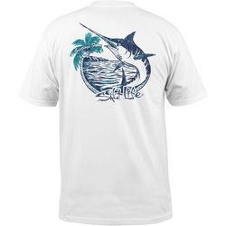 Salt Life Mens Island Days Pocket T-Shirt