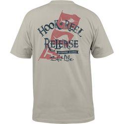 Salt Life Mens Hook Reel Release Pocket T-Shirt