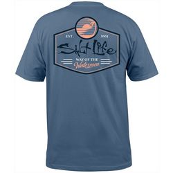Salt Life Mens Salt Vibe Short Sleeve T-Shirt