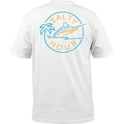 Salt Life Mens Salty Hour Short Sleeve T-Shirt