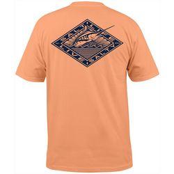 Salt Life Mens Diamond Marlin Short Sleeve T-Shirt