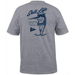 Salt Life Mens Fishatude Short Sleeve T-Shirt