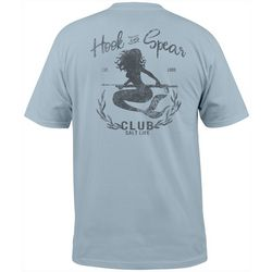 Salt Life Mens Hook & Spear Mermaid Short