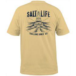 Salt Life Mens Trolling Club Short Sleeve T-Shirt