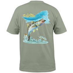 Salt Life Mens Snook Surf Pocket T-Shirt