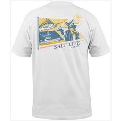 Salt Life Mens Loyal To Sea Short Sleeve T-Shirt