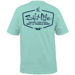 Salt Life Mens Bait & Tackle Shop Pocket T-Shirt