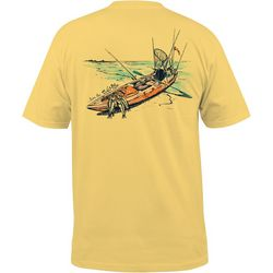 Salt Life Mens Rigged Kayak Pocket T-Shirt