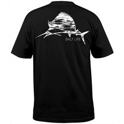 Salt Life Mens Ocean Sailfish Crew T-Shirt