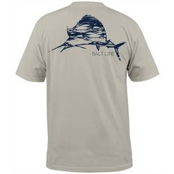 Salt Life Mens Ocean Sailfish Short Sleeve T-Shirt