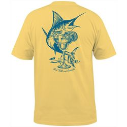Salt Life Mens Fish Cocktail T-Shirt