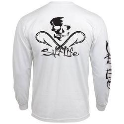 Salt Life Mens Skull & Hooks T-Shirt