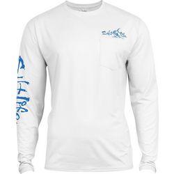 Salt Life Mens Captain SLX Performance Shirt