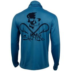 Salt Life Mens Aquashield Performance Pocket Shirt