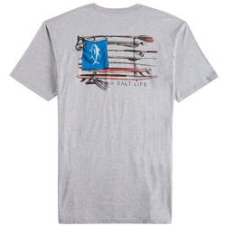 Salt Life Mens Salt Quiver Heathered T-Shirt