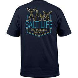 Salt Life Mens Neon Tails T-Shirt